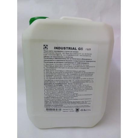 Industrial-G5-1L почистващ препарат