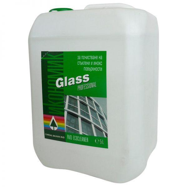 Glass – Препарат за почистване на стъкла - 5 литра
