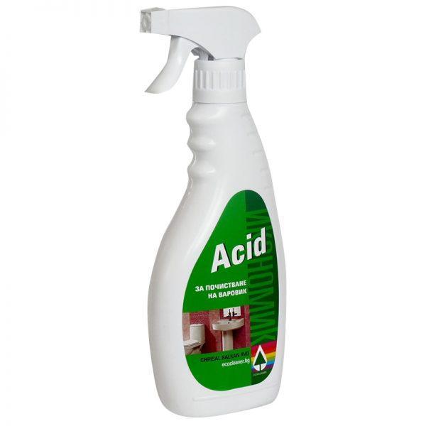 Acid -почистващ препарат за варовик - 1 литър