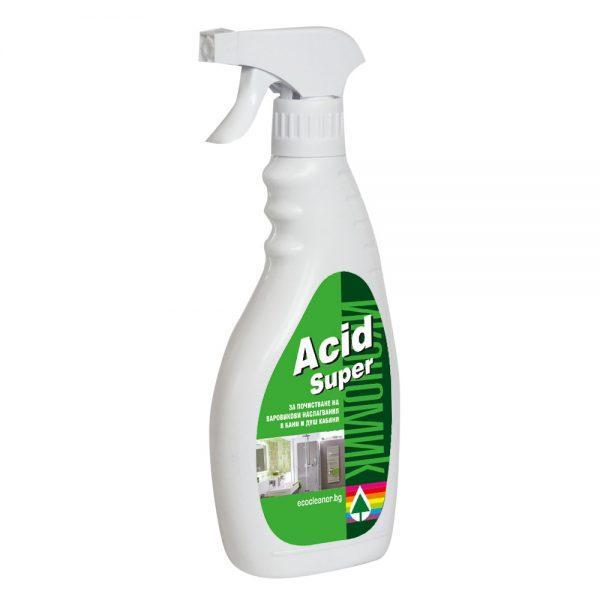 Home Acid Super-Препарат За Отстраняване На ВаровикAcid Super-Препарат За Отстраняване На Варовик - Магазин Acid Super-препарат за отстраняване на варовик