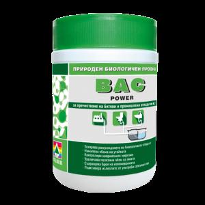 BAC POWER биологичен продукт за септични ями и канали 500гр.