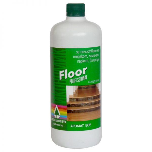 Препарат за почистване на подови настилки