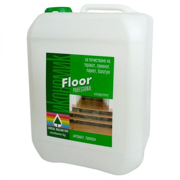Препарат за почистване на подови настилки - 5 литра - Ecocleaner