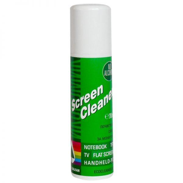 Screen Cleaner - почистващ спрей за монитори, TFT дисплеи