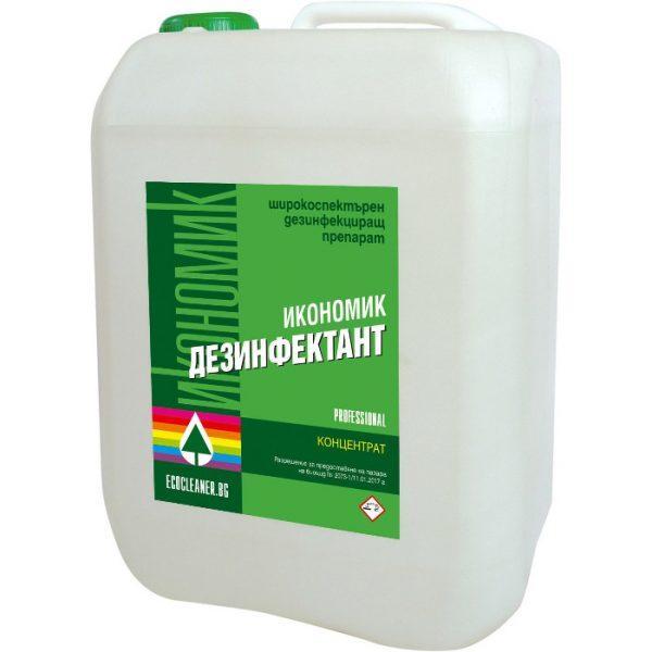 Дезинфектант 5 литра - широкоспектърен за всички повърхности