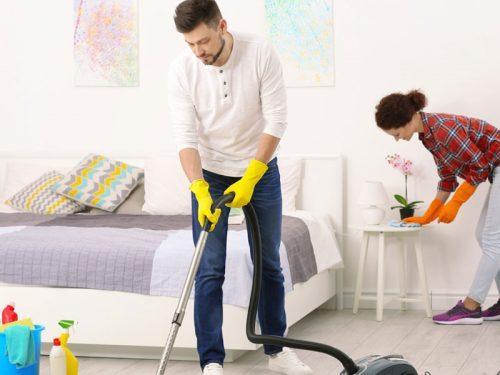 Пролетно почистване на спалнята с Еcocleaner